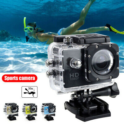 4K 12MP Mini Action Camera DVR DV Video Camcorder Ultra HD Sports Cam Waterproof
