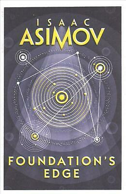 Foundation's Edge by Isaac Asimov (English) Paperback Book Free Shipping!