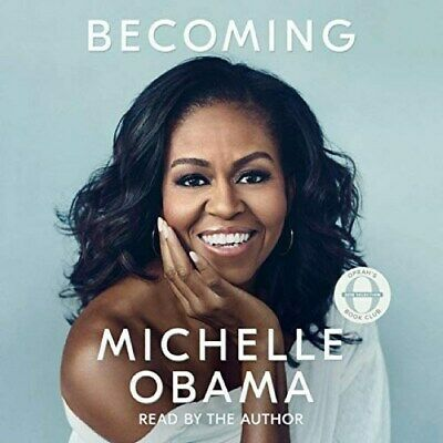 Becoming, By Michelle Obama, Becoming, audio Book in mp3 format on CD.