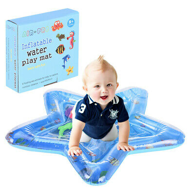 Inflatable Baby Water Mat Pad Play for Kids Children Infants Tummy Time USA