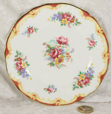 Royal Adderley fine bone china small side plates x 2 floral design afternoon tea