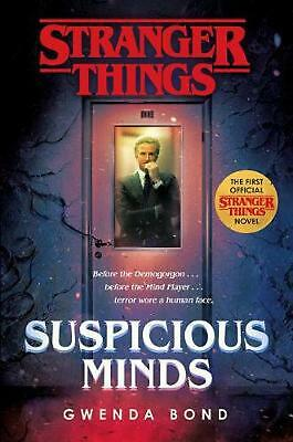 Stranger Things Suspicious Minds The First Official Stranger Things Novel New 18 58 Picclick
