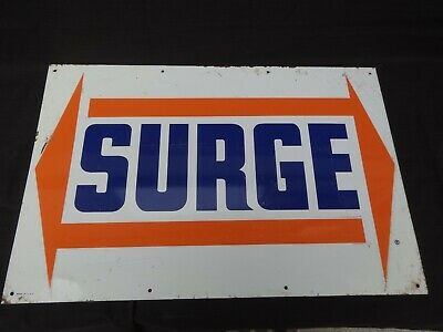 Vintage Surge 12x18 Metal Sign Made in USA Milk Milking Dairy