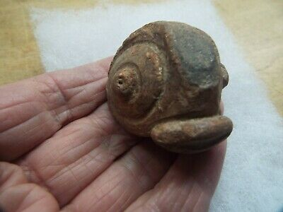 RARE Saladoid period pottery Morphology FIGURE FRAGMENT,,   400 BC 600 AD AB -5
