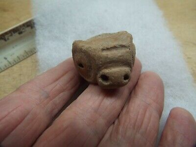 RARE Saladoid period pottery Morphology FIGURE FRAGMENT,,   400 BC 600 AD AC -4