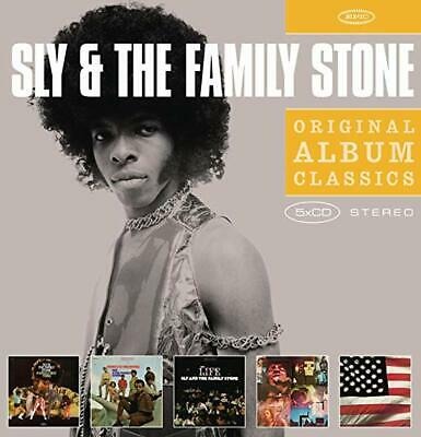 ID3z - Sly  The Family Stone - Original Album Class - CD - New