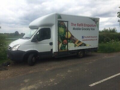 Mobile Grocery Shop Van Business For Sale
