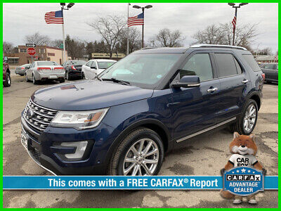 2016 Ford Explorer Limited 2016 Limited Used 3.5L V6 24V Automatic 4WD SUV