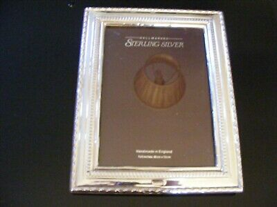 Sterling Silver Picture / Photograph Frame - Hallmarked