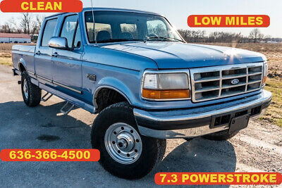 1996 Ford F-250  1996 Used Turbo 7.3L V8 powerstroke diesel 4WD Pickup Truck crew cab clean nice