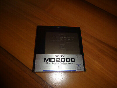 MINIDISC - SONY - MD2000 - HIGH QUALITY PERFORMANCE(JAPAN) mini disc,minidisk