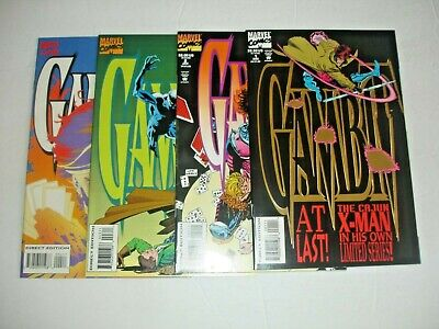 Gambit mini series 1-4 Complete set lot run Marvel X-Men 1 2 3 4
