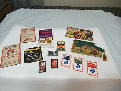 Vtg Sewing Needle Book Lot Of 13 Advertising Reliance Bloods Pico Rj Roberts (85