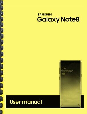 Samsung Galaxy Note 8 Verizon OWNER'S USER MANUAL