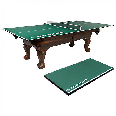 Dunlop Official Size Table Tennis Conversion Top Pre-assembled w/ Post Ping Pong
