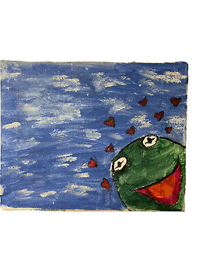 Kermit The Frog Happy Painting