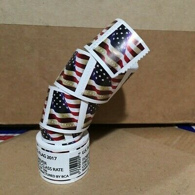 USPS Forever Flag Stamps - One Coil - Roll of 100