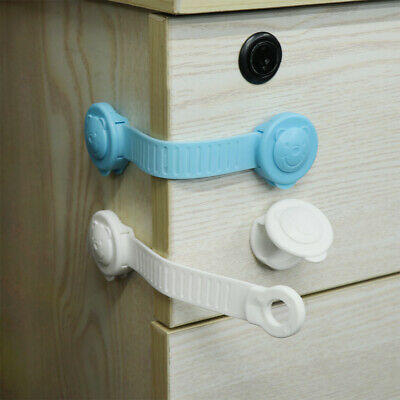 Door Stopper Child Finger Protector Cabinet Lock Baby Safety Cupboard Drawer