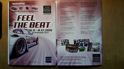 "Presse - Mappe ""Feel the Beat"" der ESSEN MOTOR SHOW 2019 vom Previewday"