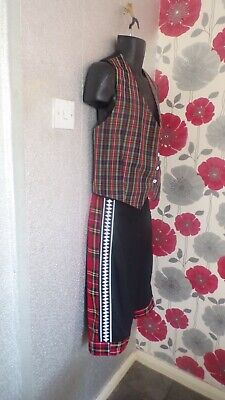 """Quality Bay City Rollers Hand Crafted  Style Outfit  =Chest 38"""""""