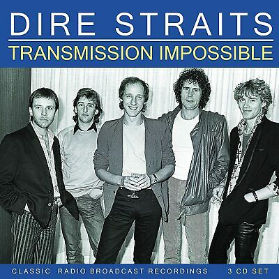 DIRE STRAITS Transmission Impossible BOX 3 CD Live Radio Broadcastings NUOVO .cp