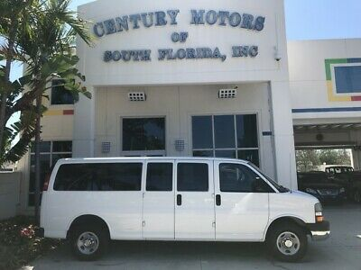 2007 Chevrolet Express  12 Passenger with Rear Cargo Space Extended Van Rear A/C Cruise