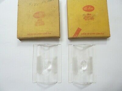 Nors 1959 Plymouth Glo-Brite Clear Back Up Lens Pair Nib #634