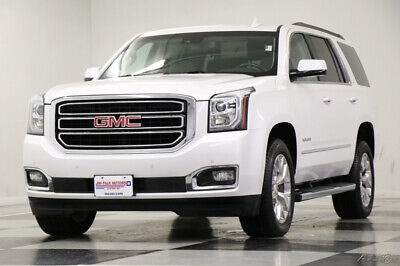 2017 GMC Yukon SLT 4WD  4X4  Heated Cooled Leather Sunroof DVD Na Used Loaded Heated Cooled Seats Navigation Player Camera 7 Passenger 18 19 2018