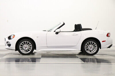 2018 Fiat 124 Spider Fiat Classica Camera Brilliante White Convertible Like New Bluetooth 1 One Owner Warranty Roadster Push Start 19 20 2019 18