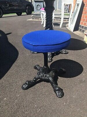 Cast Iron Ornate Stool