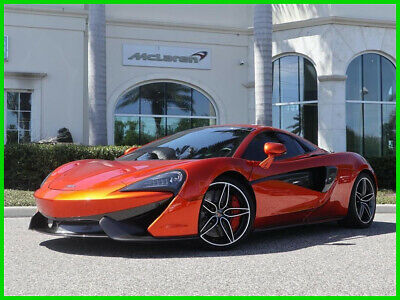 2018 McLaren 570  2018 Used Certified Turbo 3.8L V8 32V Manual RWD