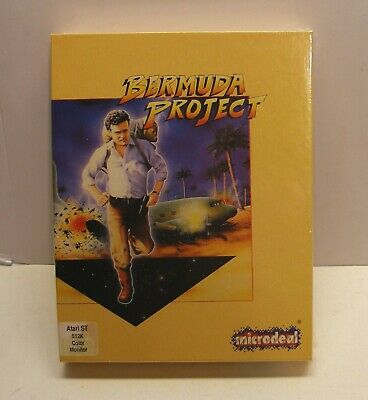VERY RARE, Bermuda Project by Microdeal for Atari ST  - NEW