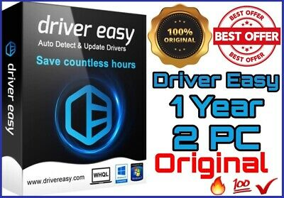 Driver Easy PRO 2020 🔥 UPDATE ALL YOUR DRIVERS 🔥 1 Year 2 PC  🔥 Original 💯