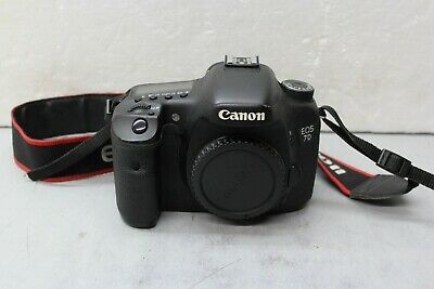 Canon EOS 7D 18.0MP Digital SLR Camera - Black (Body Only) AS IS PARTS or REPAIR
