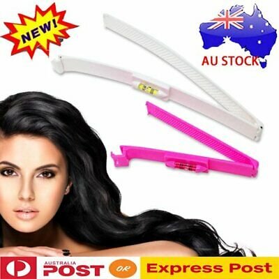 Hairdressing Hair Bangs Trim Clips Comb Set Cutting Scissors Tool Hairstyle 2PCS