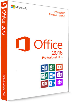 Microsoft Office 2016 Professional Plus Vollversion Lizenzschlüssel Deutsch