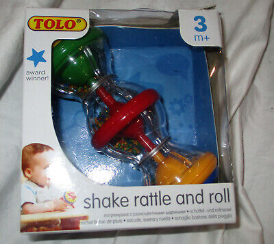 Tolo Shake Rattle And Roll Baby Rattle NEW