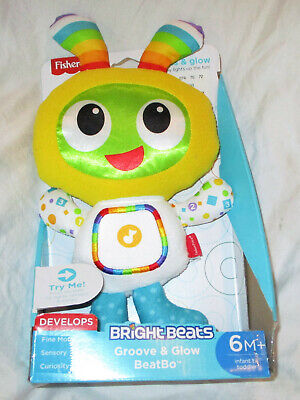 Fisher Price Bright Beats Groove and Glow BeatBo NEW