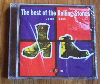 Jump Back: The Best of the Rolling Stones CD (1971-1993) Brand New & Sealed