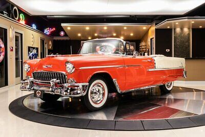 1955 Chevrolet Bel Air Convertible Frame Off, Rotisserie Restored! GM 265ci V8, Automatic, PS, PB, Convertible!