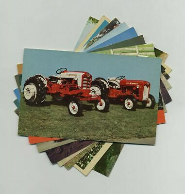 (8) Vintage Advertising Postcards Ford Tractor New Holland Farm Machinery yz2258