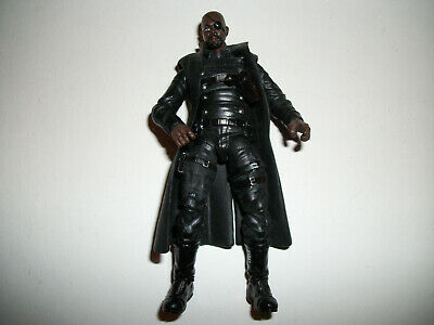 "Marvel Universe Super Hero Comic Book Figure 3-4"" Nick Fury 3.75"" #12a"