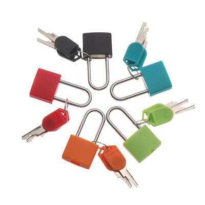 Travel Suitcase Colourful Security Tool Luggage Strong Steel Lock Padlock
