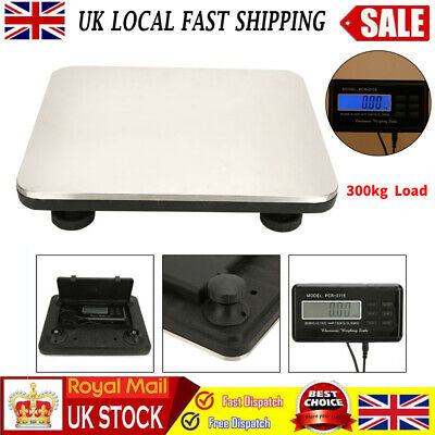 Digital Large 300kg 660lb Postal Scale Postage Parcel Shipping Weighing Scales