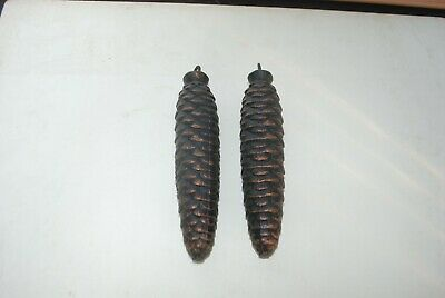 Pair of Two Large COO COO Clock Weights, 2 1/2 Lbs. Each