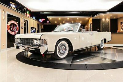 1965 Lincoln Continental Convertible Nut & Bolt Restored! Lincoln 430ci V8, Automatic, PS, PB, A/C, Power Top, Loaded