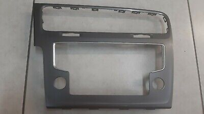 Quadro Panello Radio VW Golf 7 grigio 5G1819743