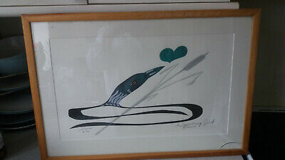 Vintage Signed Watercolour -Canadian  Alvin Constant Wandering Spirit-  Love Xtc