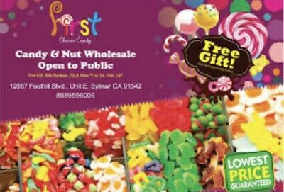 Candy Distribute We Deliver To You Candy Company Give Me A Text @ 323-606-2350