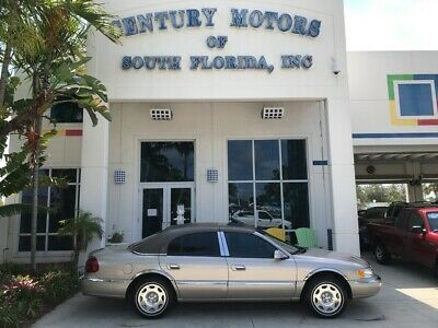 2002 Lincoln Continental  unroof Leather ALPINE Stereo CD Cassette Cabrio Top Chrome Wheels